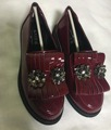 2016 новых осенью дети кисточкой обувь для детей бренда горный хрусталь обувь новорожденных девочек мода loafer обувь малышей плоские туфли черные