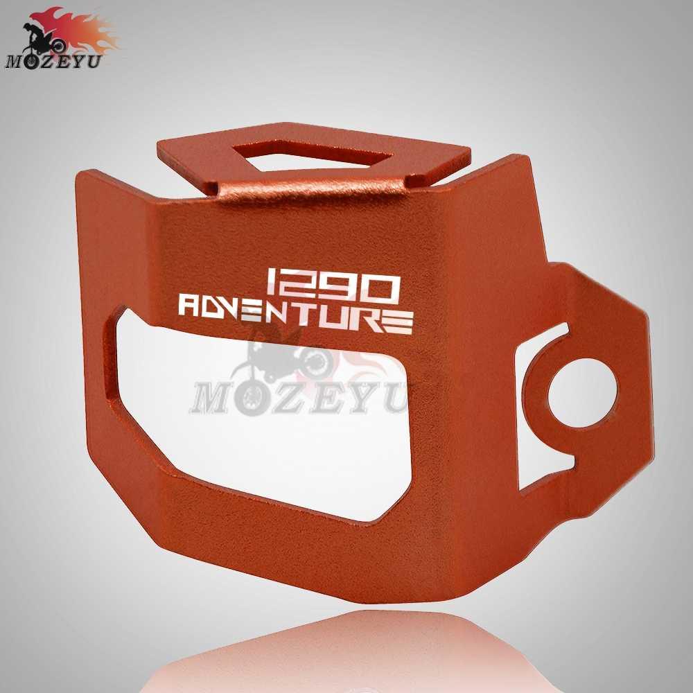 Для KTM 1290 супер Приключения Мотоцикл CNC задний тормозной жидкости защитник резервуара крышка защита для 1290 супер Приключения R/S/T ADV
