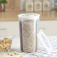 1pcs Grains Goods Candy Dispenser Sealed Cans Kitchen Home Organization Container Wholesale Bulk Lot