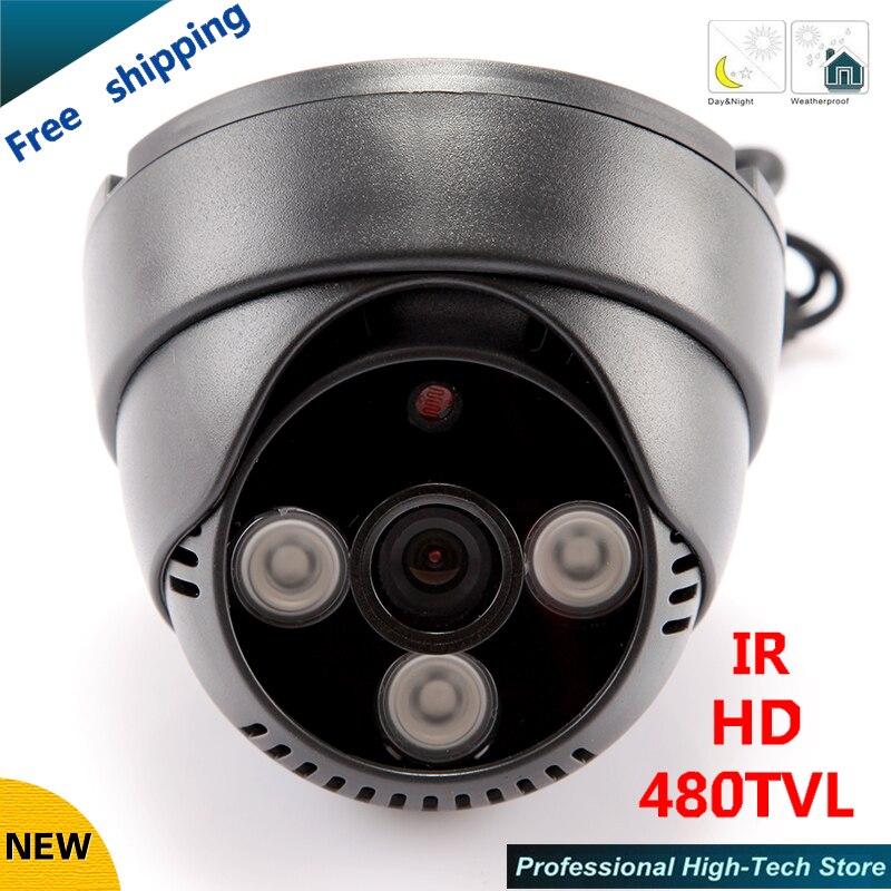 ФОТО Free shipping! HD 480TVL ccd cctv cam IR cctv camera surveillance security camera wholesale