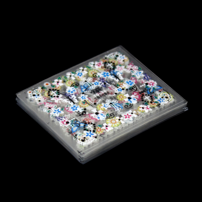 Tignish 50Sheets / Pack 3D naljepnice naljepnica naljepnica - Manikura - Foto 2