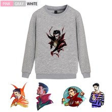 Marvel Comic Doctor Strange Fleecy O-NECK Cotton Sweatshirts Teen Casual Unisex Pullover A193291