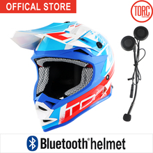 TORC off road brand Helmet adult moto helmet Bluetooth helmet dirty bike racing cross motocross helmets motorcyle T32 цена