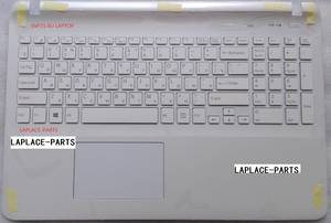 genuine white Russian keyboard for Sony FIT15 SVF15 SVF152 SVF153 SVF15E with palmrest