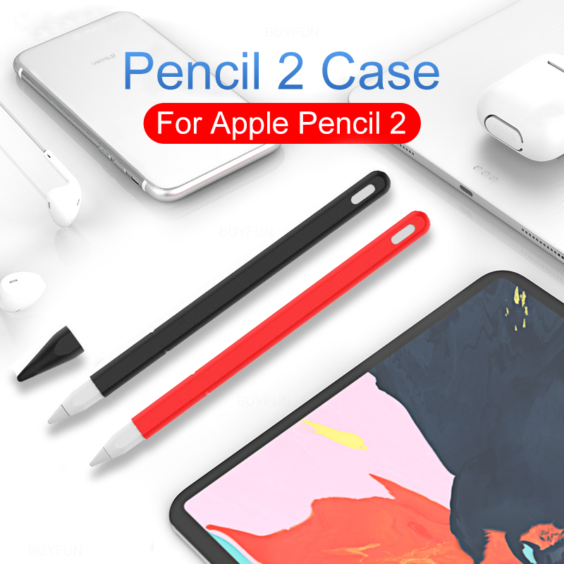 Silicone Sleeve Cap Tip Cover Holder Tablet Touch Pen Stylus Pouch Sleeve For Apple Pencil 1 Generation Case For IPad Pencil