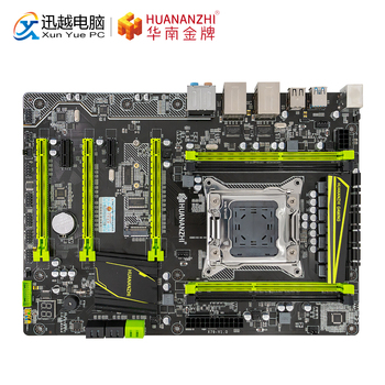 HUANAN TỬ X79 PLUS X79 Cho Intel LGA 2011 E5 2660V2 2680V2 DDR3 1333/1600/1866 MHz 64 GB M.2 PCI-E NVME ATX Mainboard