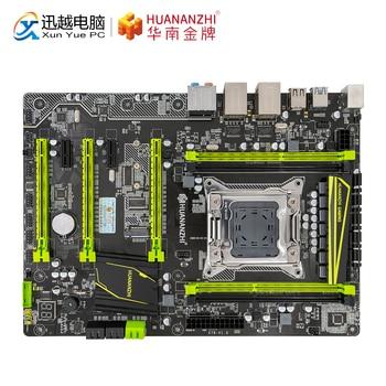 Huanan zhi x79 plus 마더 보드 x79 인텔 lga 2011 e5 2660v2 2680v2 ddr3 1333/1600/1866 mhz 64 gb m.2 pci-e nvme atx 메인 보드