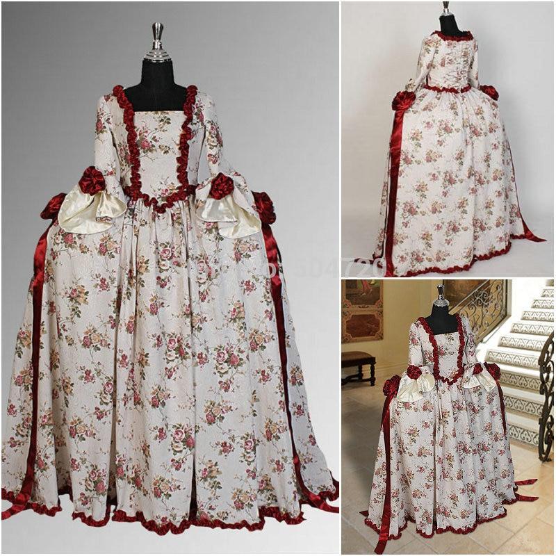 1800 Victorian Dresses