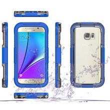 Waterproof Cases For Samsung S7 S7edge Hard Plastic Swimming Diving Underwater Full Protective Shell