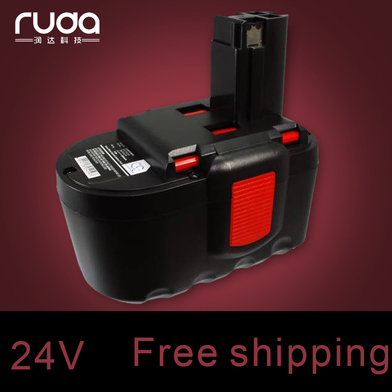for BOSCH 24VA 2000mAh power tool battery Ni cd,2607335562 2607335637 2607335645 B-8230 BAT030 BAT031 BAT240 BAT299 BH-2424 new 14 4v 2 0ah 2000mah ni cd battery for bosch bat038 bat140 bat159 bat040 bat041 vhk15 t10