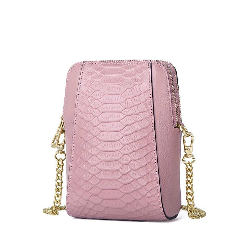 Móvel de Couro de vaca sacos mulheres mensageiro saco 2019 moda bolsa de couro genuíno de luxo # CW203