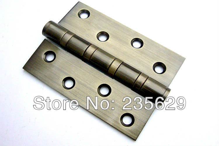 Charmant Free Shipping, Antique Brass Finished Hinges For Timber Door / Metal Door,  Stainless Steel Material, 4*3*3, 0.55KG In Door Hinges From Home  Improvement On ...
