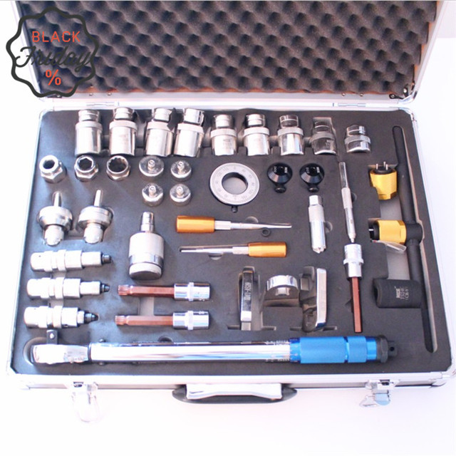 $US $270.00  Common rail injector nozzle decomposition tool sets electronic control injector decomposition