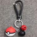 New Cute Charm Ball Mobile Phone Strap / Wholesale Red and White Fashion Straps For Cell Phone RKS0106C