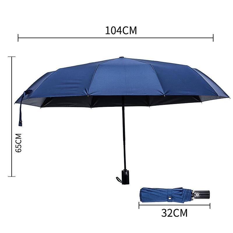 windundurchlässige Regenschirme der großen automatischen - Haushaltswaren