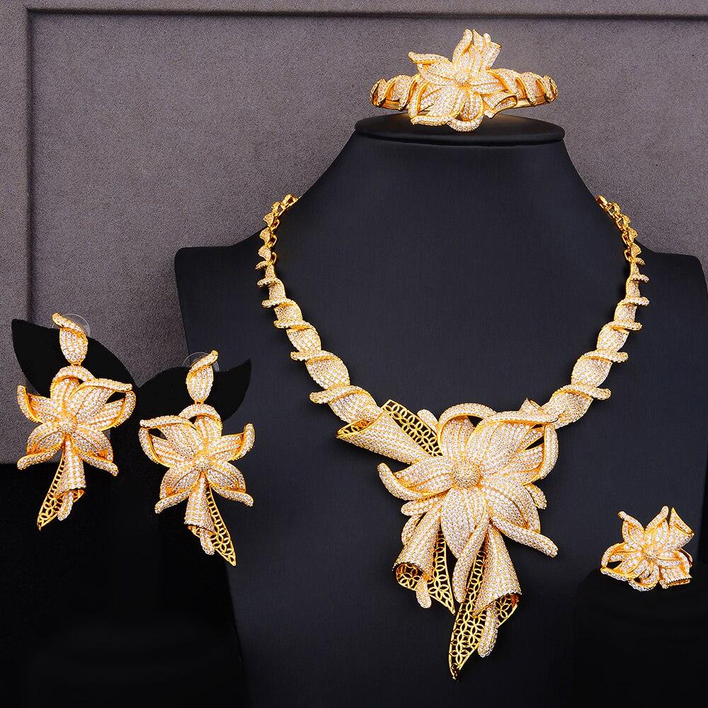 GODKI famosa marca Charms Lariat Choker declaración de lujo Dubai conjuntos de joyería para mujeres CZ circón Boda nupcial joyería conjuntos 2019-in Conjuntos de joyería from Joyería y accesorios    1