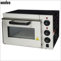 XEOLEO Single layer Electric Pizza oven Higher Pizza machine 2000W ~350 degree Horizontal Baking oven Horizontal Pizza maker CE