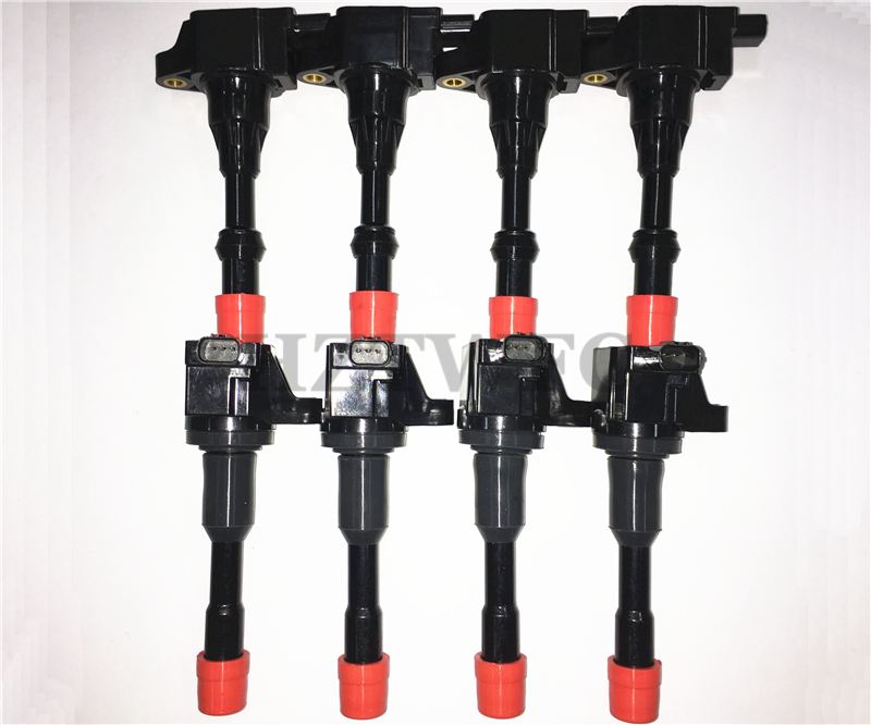 8PCS/LOT Rear And Front Ignition Coil 30520-PWA-003 30521-PWA-003 For Honda Civic 7 8 VII VIII JAZZ FIT 2 3 II III 1.2 1.3 1.4
