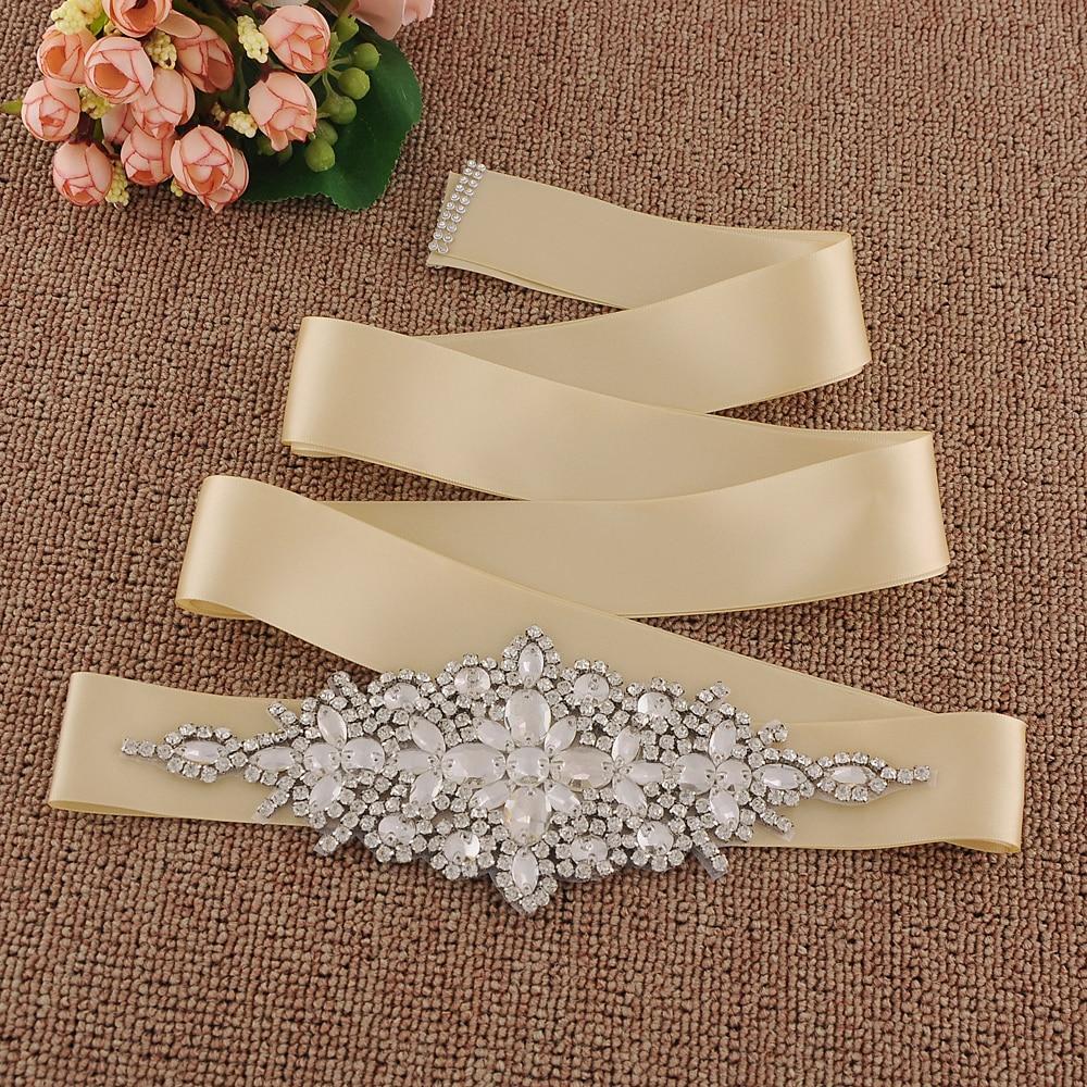 Trixy S270 Kristall Abend Party Prom Kleider Zubehör Hochzeit Gürtel Schärpen Braut Bund Braut Schärpen Braut Gürtel Braut Blets