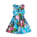 Niñas Vestidos de Flores de Verano para Bebé Vestdios Niños Imprimir Vestido de Tirantes Ropa Del Niño Adolescente Flor Sin Mangas Vestido de Ropa Infantil
