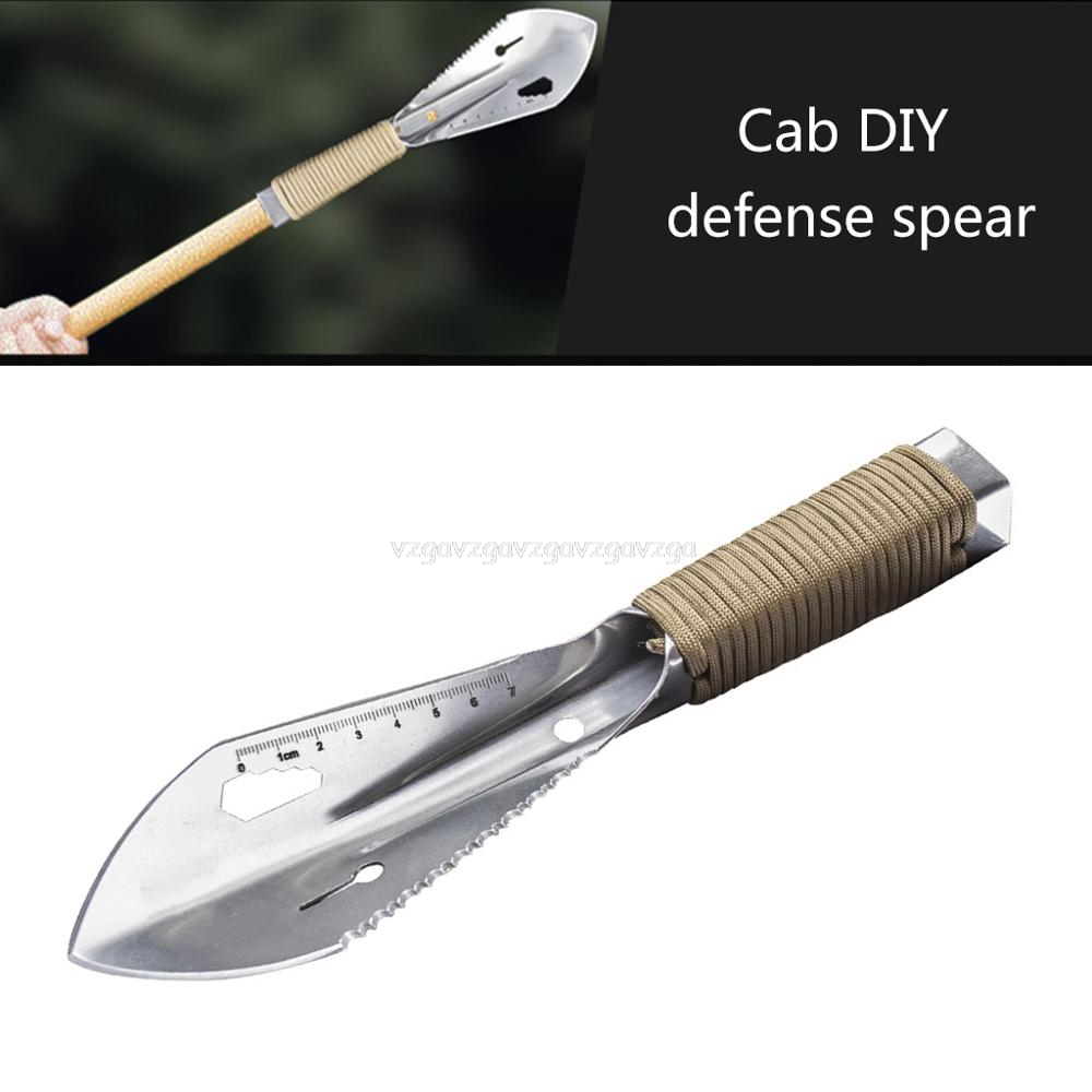 Metal Detector Garden Digging Tool Digger Garden Shovel W Sheath Stainless Steel Garden Shovel Je10 19 Dropship
