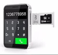 "cell phone screen Super Mini Watch cell Phone AEKU i5S 2.2"" Screen sport pedometer phones 450mAh Bluetooth MP4 MP3 Small Mobile Phone (2)"