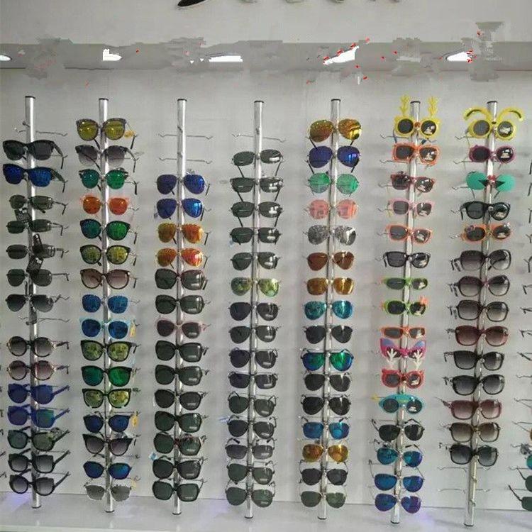 10pcs Aluminium Lockable Sunglasses Eyeglasses Display Rod 1.21M For 14 Frames10pcs Aluminium Lockable Sunglasses Eyeglasses Display Rod 1.21M For 14 Frames