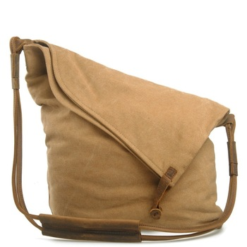 M023 Women Messenger Bags Female Canvas Leather Vintage Shoulder Bag Ladies Crossbody Bags for Small Bucket Designer Handbags 9