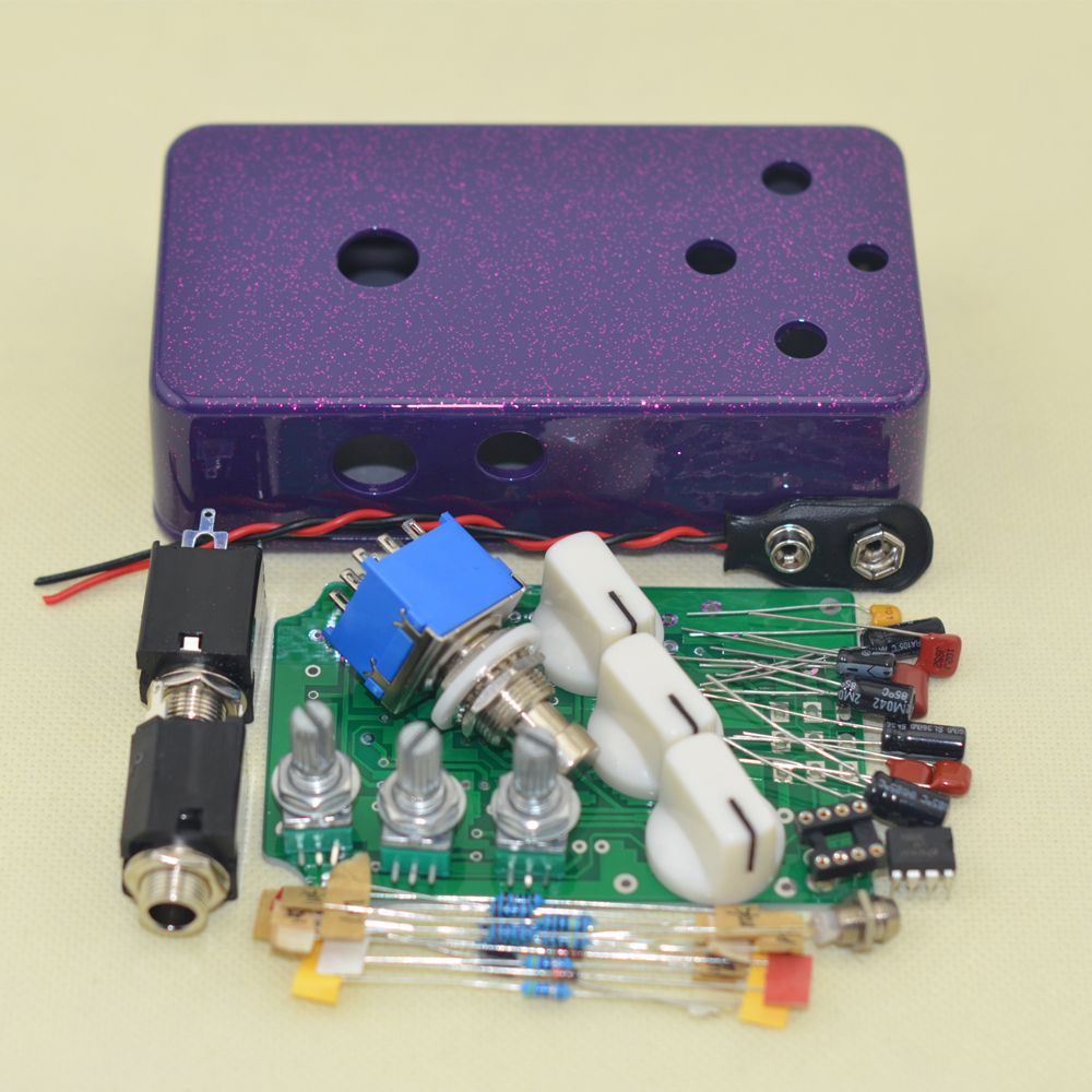 DIY Distortion pedal metal Distortion guitar Effects Pedal(DS-2)+ FREE SHIPPING