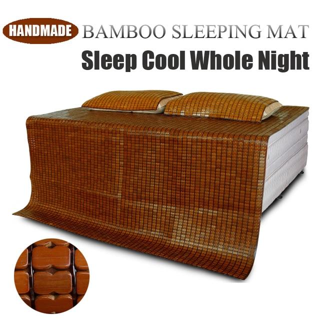 Fesselnd Full Size Luxuriöse Handgemachte Sommer Nächtliche Schweißausbrüche Kühl  Bamboo Bett Matratzenbezug Topper Kühle Kalte Schlafen Bambus