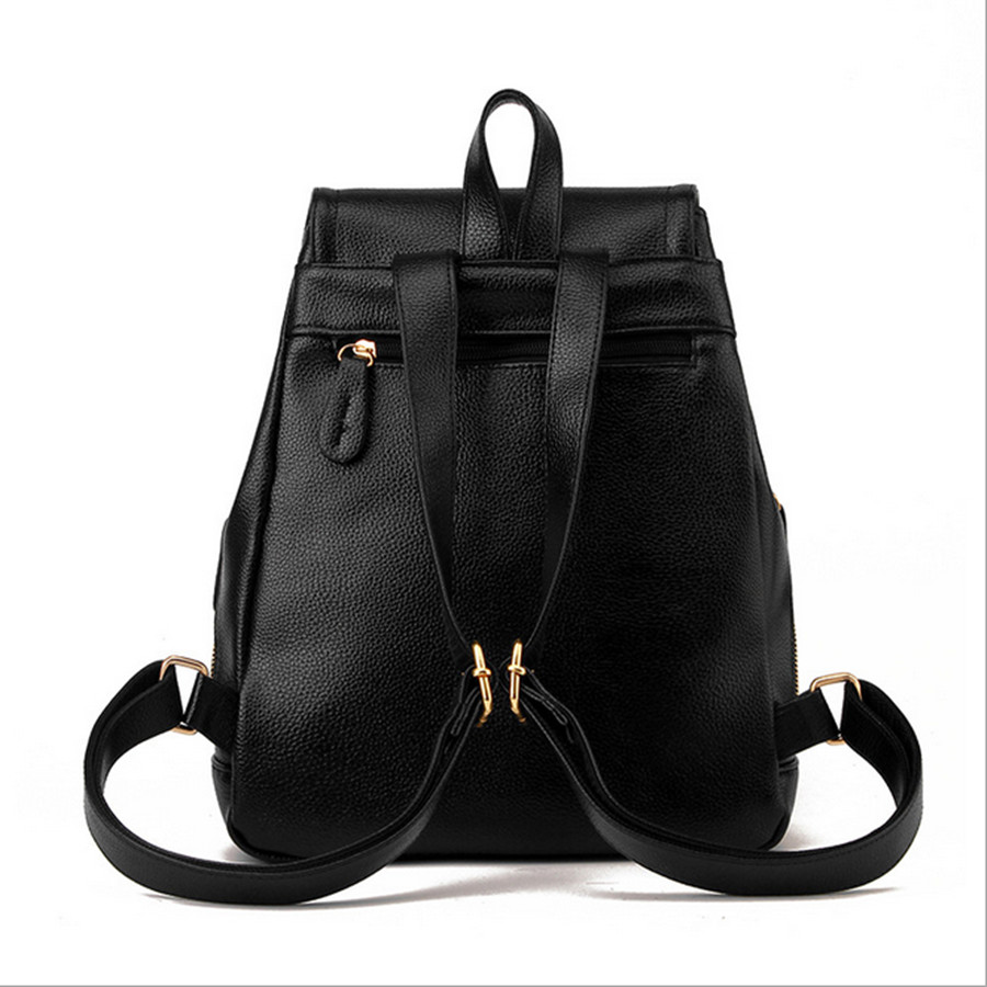 2016 Off White School Bags For High Lady Backpack Purse Back Bag Leather Black Morrales Classic In Backpacks From Luggage