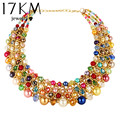17KM 2017 Vintage Necklace Statement Fashion Necklaces Women Choker Collares Femininos Colar Bohemian Jewelry Retro lover Gift