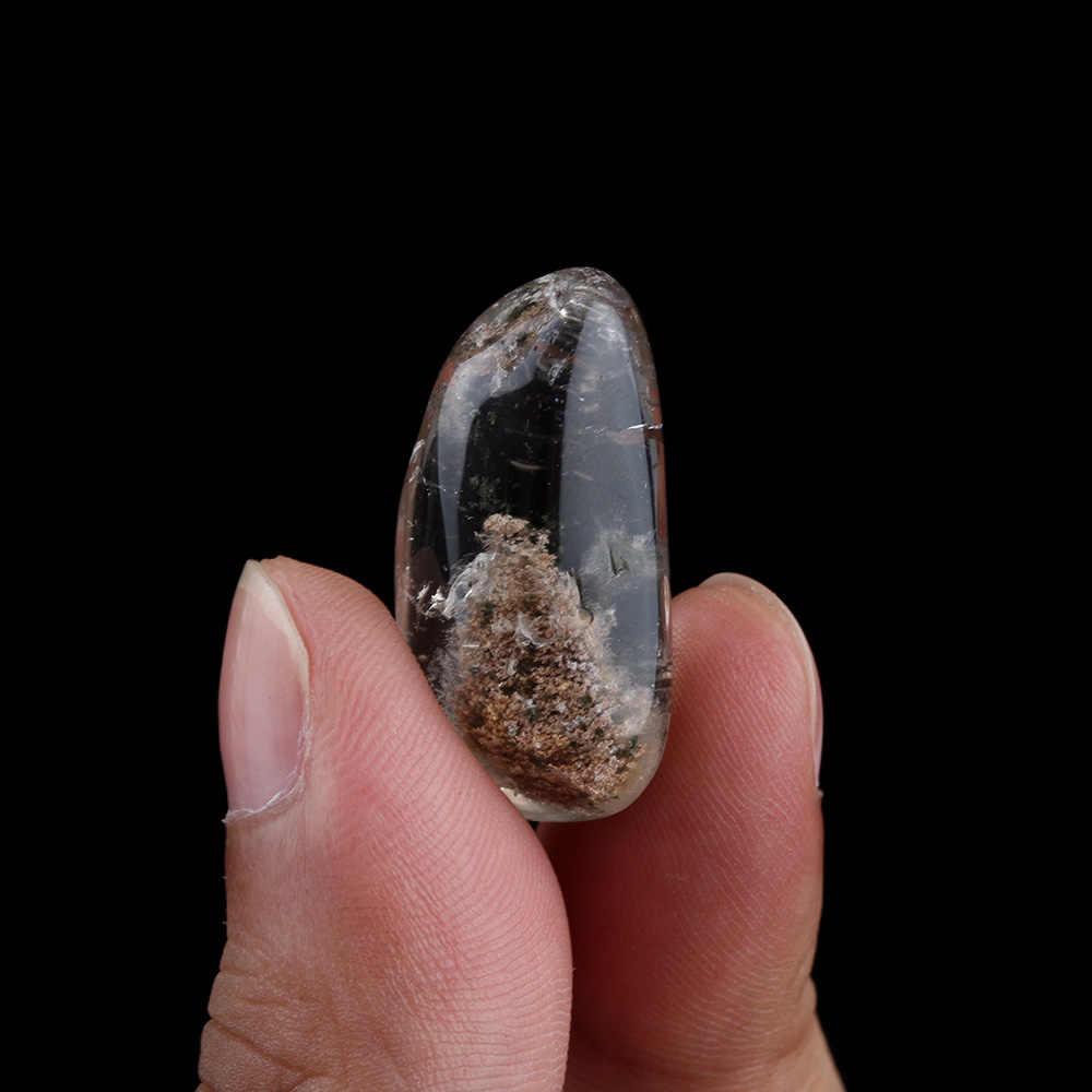 1 PC ファッションナチュラルゴーストファントム石水晶宝石標本ヒーリングペンダント
