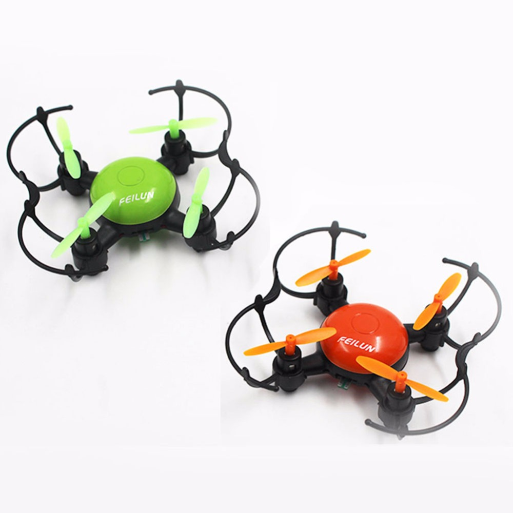 mini rc drone 2.4G 6 Axis Remote Control Quadcopter 360 Degree Flipping headless mode one key landing rc toys for kid best gifts