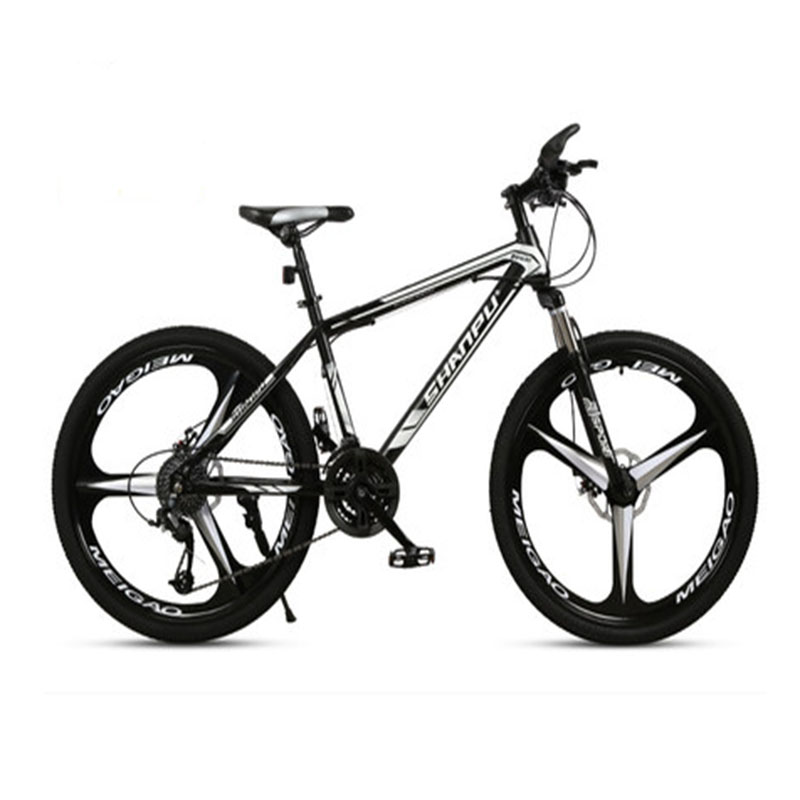 Cross-Country Mountain Bicycle 21/24/27/30 Speed Three-Blade Wheel Ultra-Light Shock Absorption For Men And Women