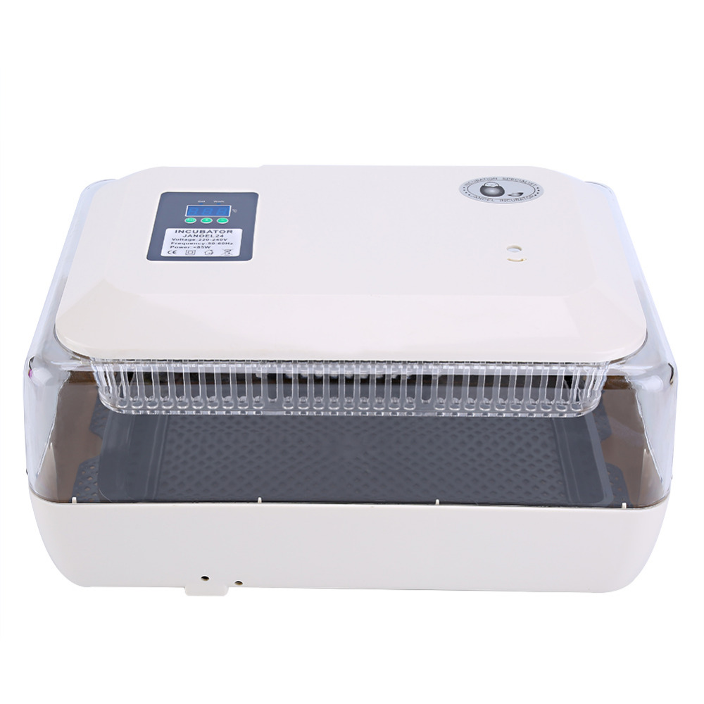 New Egg Incubator Poultry Incubator Brooder Digital Temperature Hatchery  Egg Observation Poultry Incubator Eggs Poultry-in Feeding & Watering Supplies from Home & Garden    1