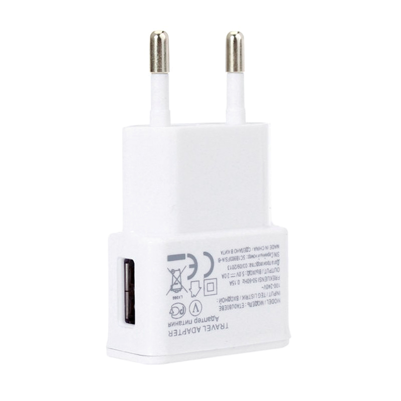 Hot 5V 2A Travel Convenient EU Plug Wall USB Charger Adapter For Samsung Galaxy S5 S4 S6 Note 3 2 For Iphone6 5 4 Cell Phones