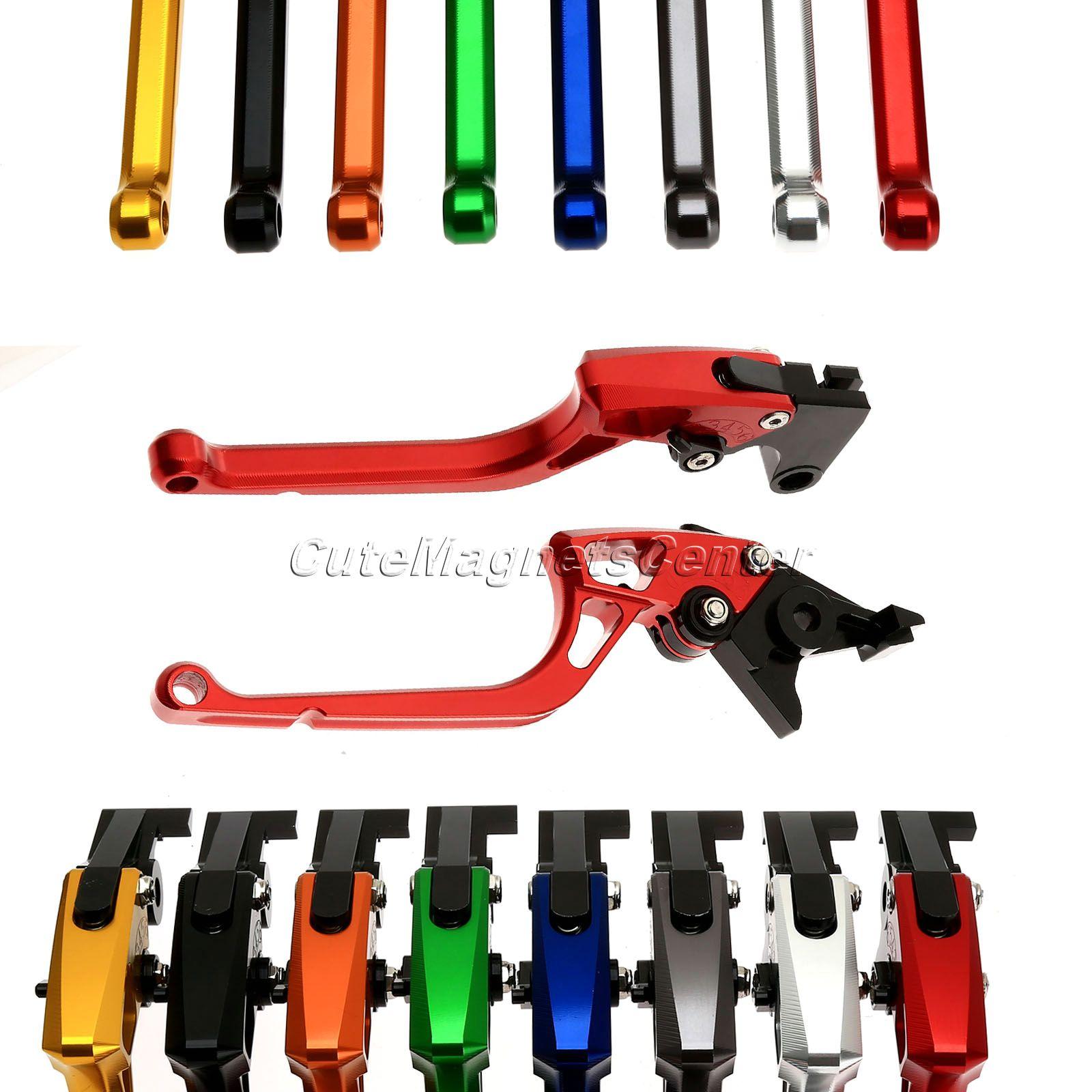 ФОТО New Adjustable Motorcycle CNC Aluminum Brakes Clutch Levers for Suzuki GSXR1000 2007 2008 Motorbike Clutch Brake Lever