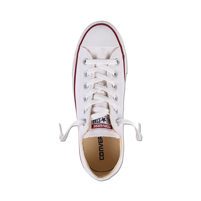 Authentic Converse ALL STAR Classic Breathable Canvas Low-Top Skateboarding Shoes Unisex Anti-Slippery Sneakers for Young Men 2