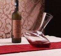 1PC Tumbler Decanter Handmade Crystal Red Wine Brandy Champagne Glasses decanter Bottle Jug Pourer For Family Bar JS 1107