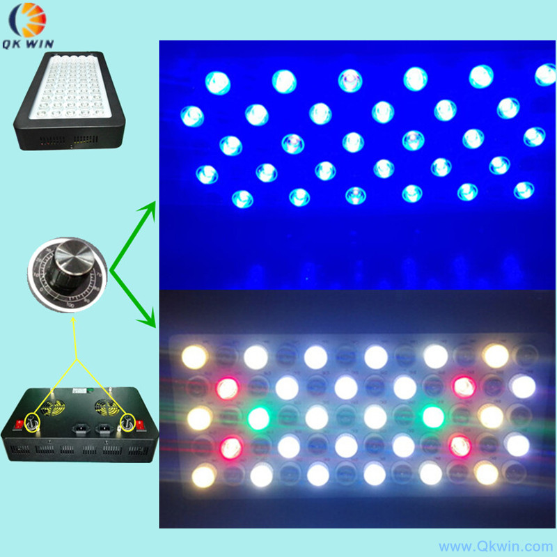 4pcs dimmable Led coral reef lighting 180W led aquarium light 60X3W Fish tank System for warehouse and quarim tank dropshipping 100w lumia 5 1 diy aquarium led light sunrise sunset dimmable led aquarium light 100w remote auto dim coral reef led lighting