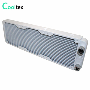Image 3 - 100% new White 360mm Aluminum water cooling cooled radiator for computer CPU Laser industrial cooler Heat Exchanger