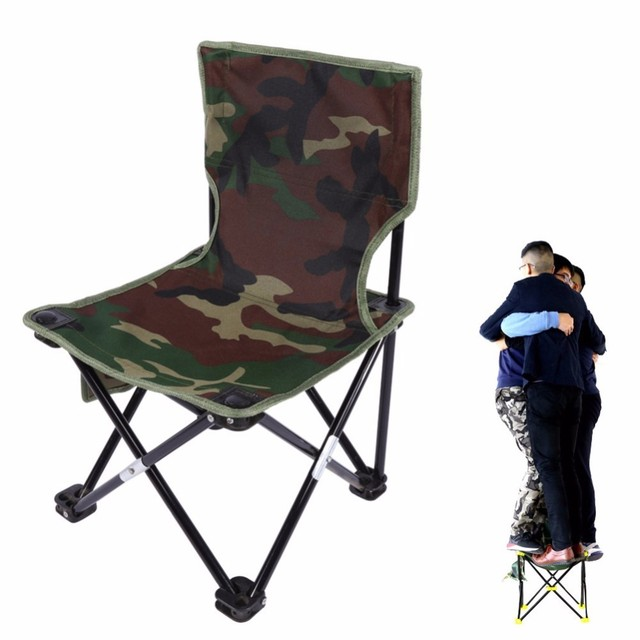 fishing chairs hardwood folding outdoor chair camouflage camping hiking beach picnic rest seat stool 33 x 53cm