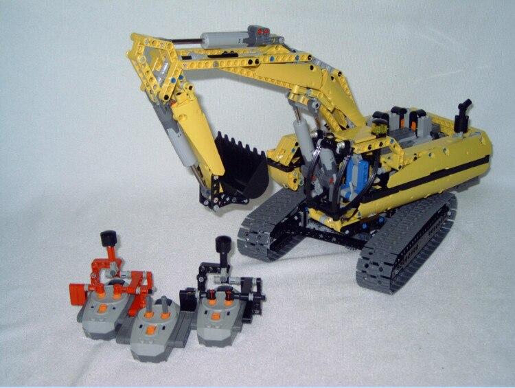 2016 LEPIN 1123pcs 20007 Technic series excavator Model Building Kit Blocks Brick Compatible Toy Christmas Gift 8043 196pcs building blocks urban engineering team excavator modeling design