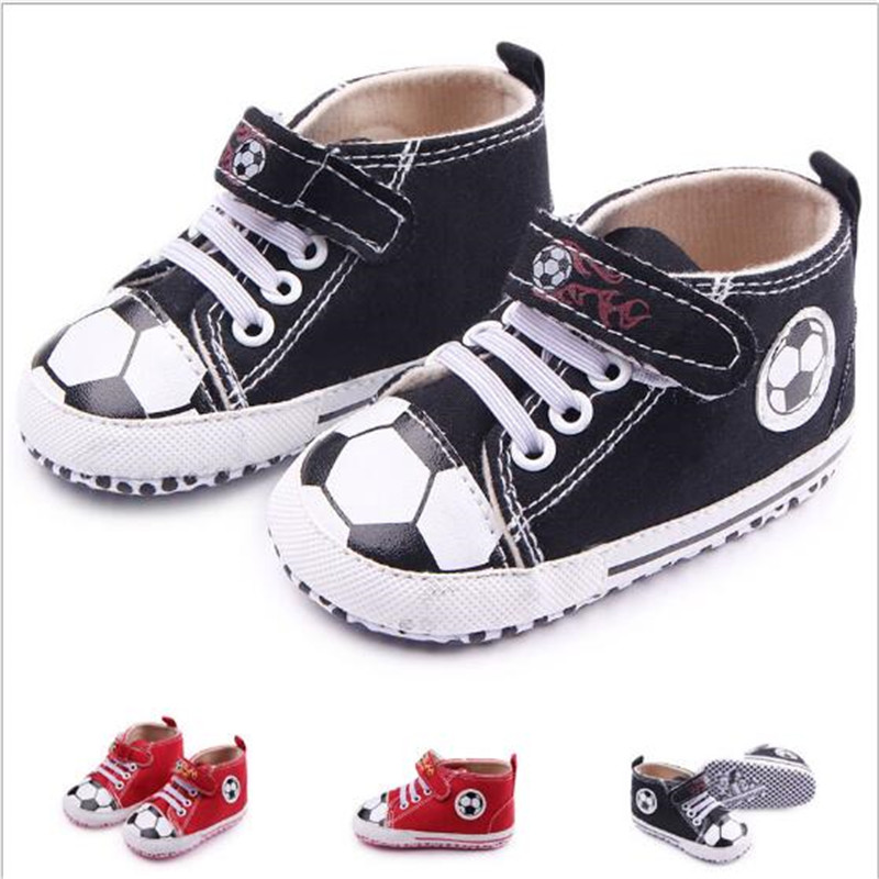 Fashion Baby Shoes Infants Canvas First Walker Soft Sole Toddler Boys Girls Sport Shoes