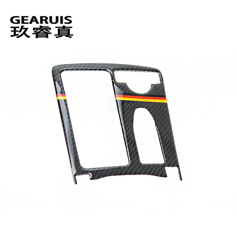 Fibra di Carbonio Style Car Ant Bordo Alette Bandella Laterale Protezione