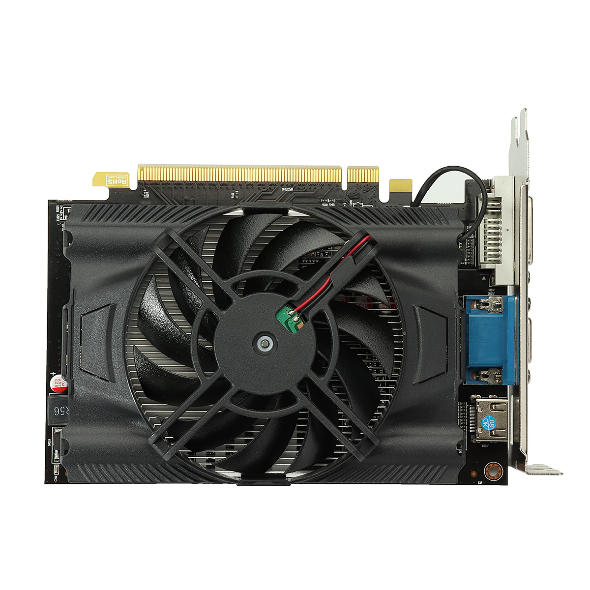 R7 250 GPU 2G DDR5 128bit Graphics Card Gaming Desktop PC Video Graphics Cards support VGA/DVI/HDMI r7 250 240 gpu vga cooler video card fan for sapphire r7 250 2g d5 r7 240 2g d3 graphics cooling