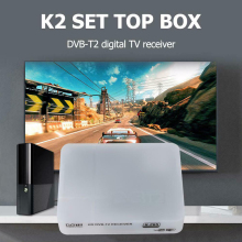 K2 HD DVB-T2 Digital Terrestrial Receiver Set-top Box with Multimedia Player H.264/MPEG-2/4 Compatible DVB-T for TV HDTV