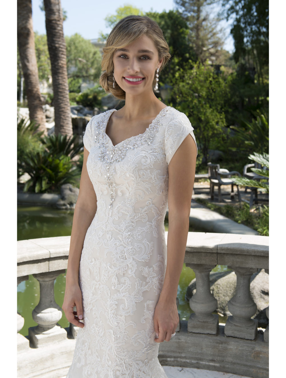 Vintage Champagne Lace Tulle Mermaid Modest Wedding Dresses With Cap Sleeves Beaded 2017 Temple Bridal Gowns Mature Brides Modest Wedding Dress Wedding Dressbridal Gown Aliexpress,Purple Fall Wedding Guest Dresses
