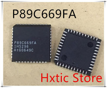 NEW 5PCS/LOT P89C669FA P89C669 PLCC-44